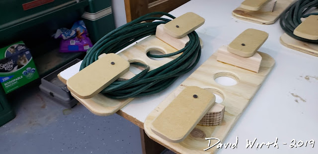 wood extension cord holder, plans, make, build