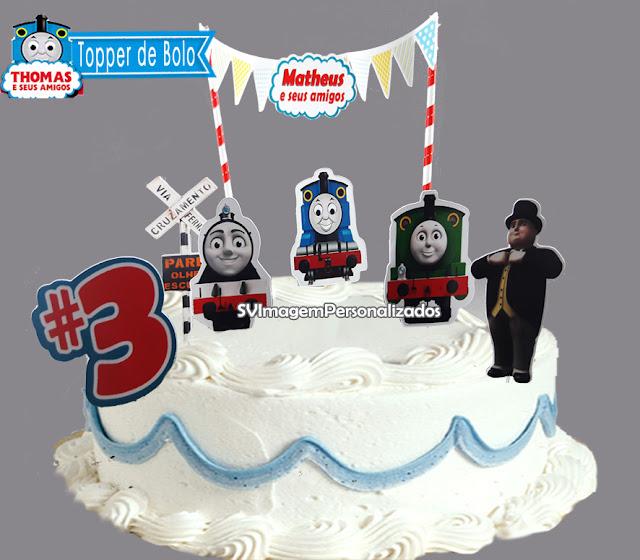 Aqui você encontra preço mais barato para topper de bolo personalizado, no tema  Thomas e Seus Amigos, essa decoração do Trenzinho chegou encher de alegria e diversão a seu aniversário.      veja mais http://blog.svimagem.com.br  ou  faça seu pedido também pelo whatsapp  11 975820887