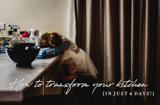 How to transform your kitchen {in just 4 days!} | Life