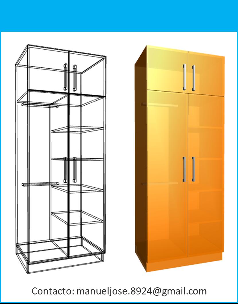 dise o de muebles madera construcci n de closet modulares
