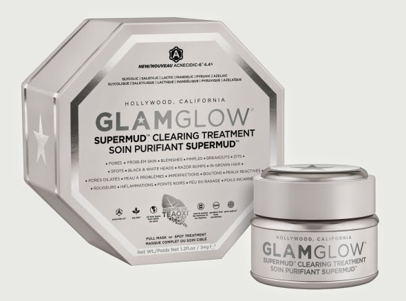 GlamGlow SuperMud Clearing Treatment, GlamGlow SuperMud, GlamGlow, SuperMud, best pimples mask, mask, Clearing Treatment, us skincare, skincare, america cosmetics