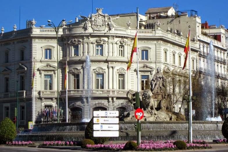 La Cibeles en Madrid