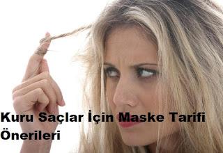 Kuru Saçlar İçin Maske Tarifi Önerileri