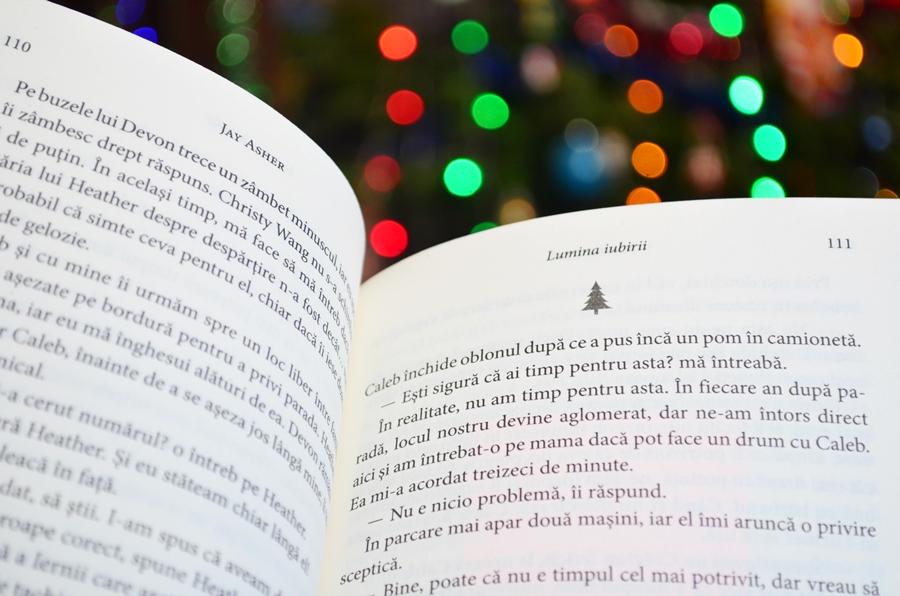 carte lumina iubirii jay asher luminite craciun