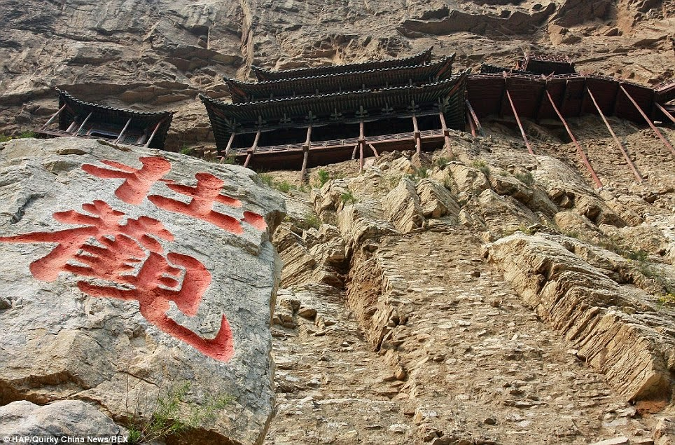 It's one of the main tourist attractions and historical sites in the Datong area. - Behind The Sacred Mountain Lies A 1,500-Year-Old Temple With One Shocking Fact. - Behind The Sacred Mountain Lies A 1,500-Year-Old Temple With One Shocking Fact.