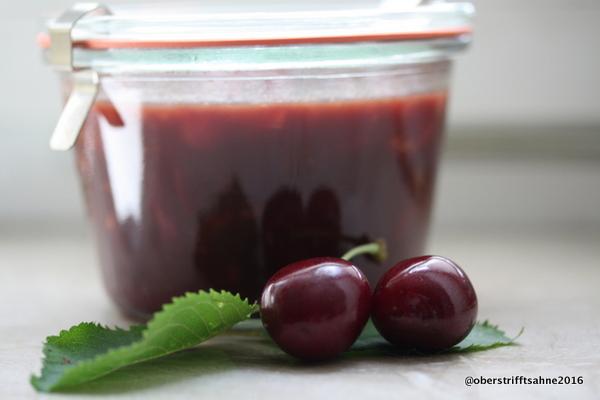 Marmelade Schwarzwälder-Kirsch