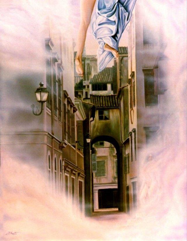 Греческий художник. Tassos Kouris