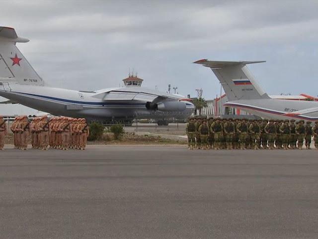 Os 'soldados fantasmas' disseram terem sido transportados em aviões do exército russo