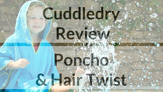 Blog title Cuddledry hair twist and poncho review
