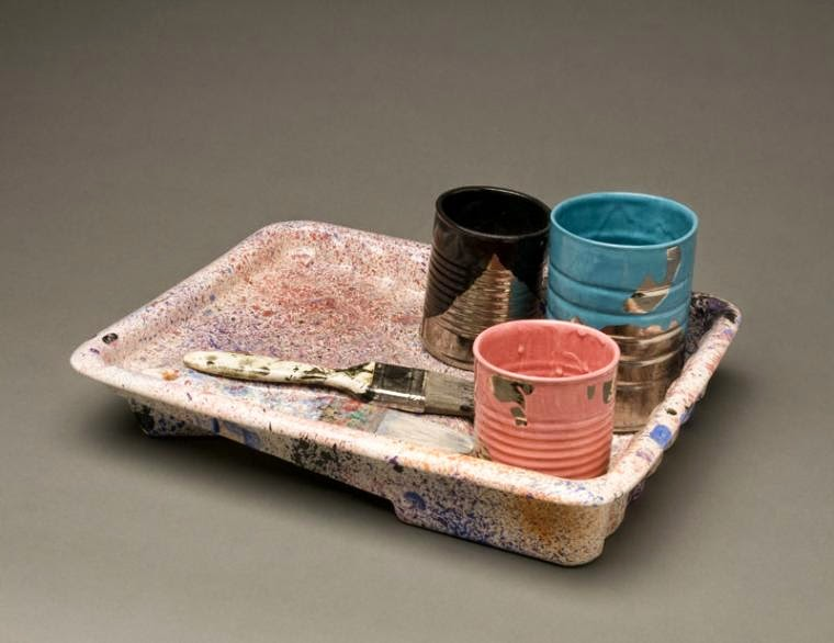 07-Jackson-Pollock-Victor-Spinski-Clay-Sculptures-replicating-objects-from-Daily-Life-www-designstack-co