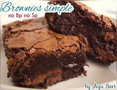 Cara Membuat Brownies Panggang Simple No Bp No Sp Resep
