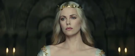 снежная королева на троне картинка