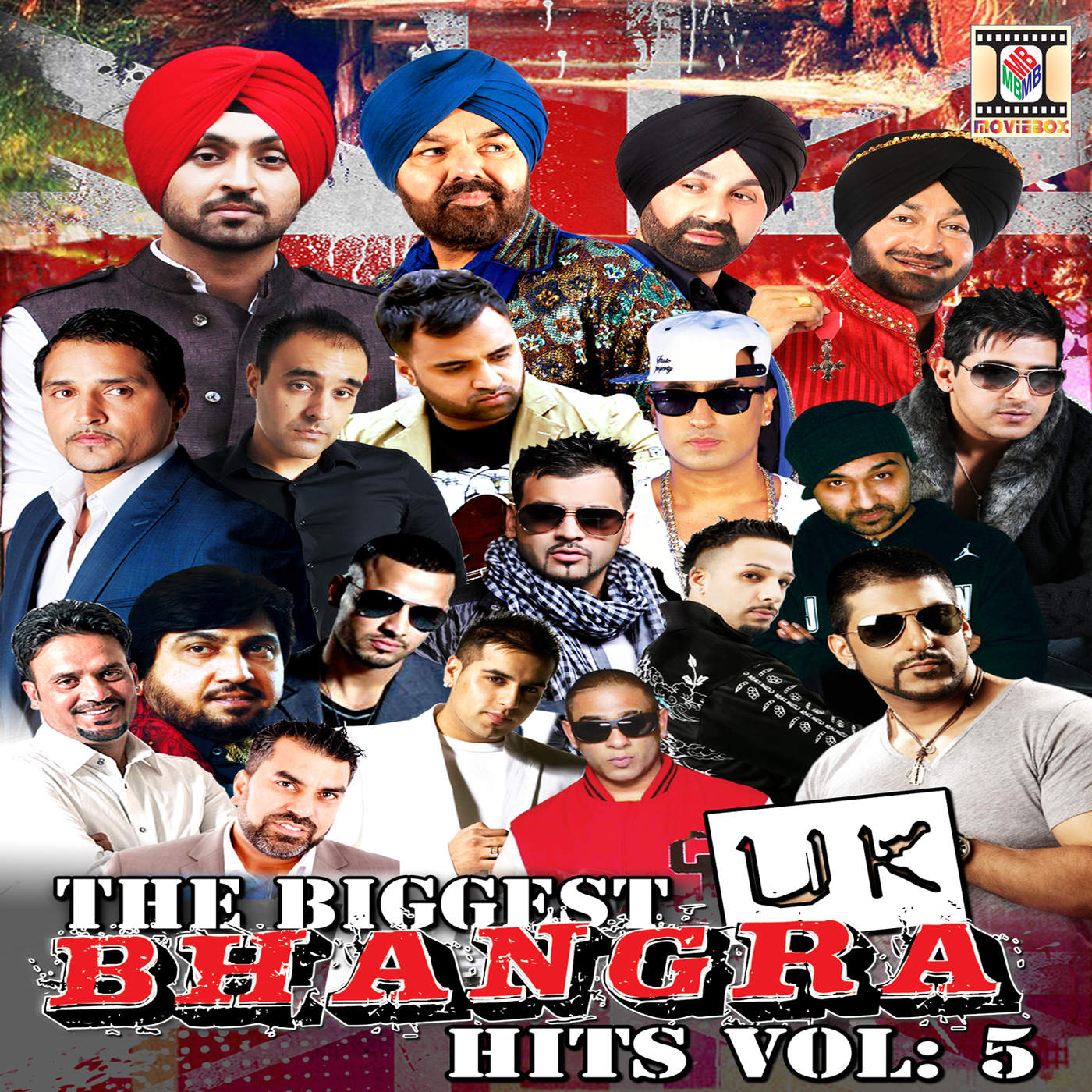 Various Artists - The Biggest UK Bhangra Hits, Vol. 5 Cover