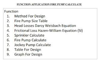 Engineer: Fire Pump Design Calculate (การคำนวณและการออกแบบหาขนาด ไฟ