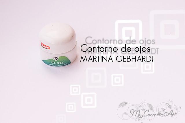 Contorno de ojos de Martina Gebhardt