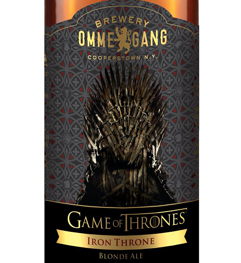 Iron Throne Ale from Brewery Ommegang