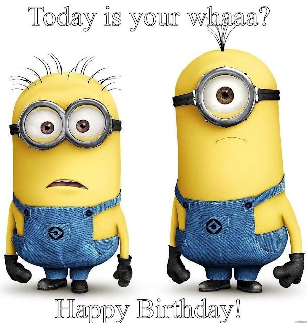 Happy Birthday Minion Whatsapp DP