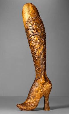 Alexander McQueen - Spring Summer 1999 - Wood leg for Aimee Mullins