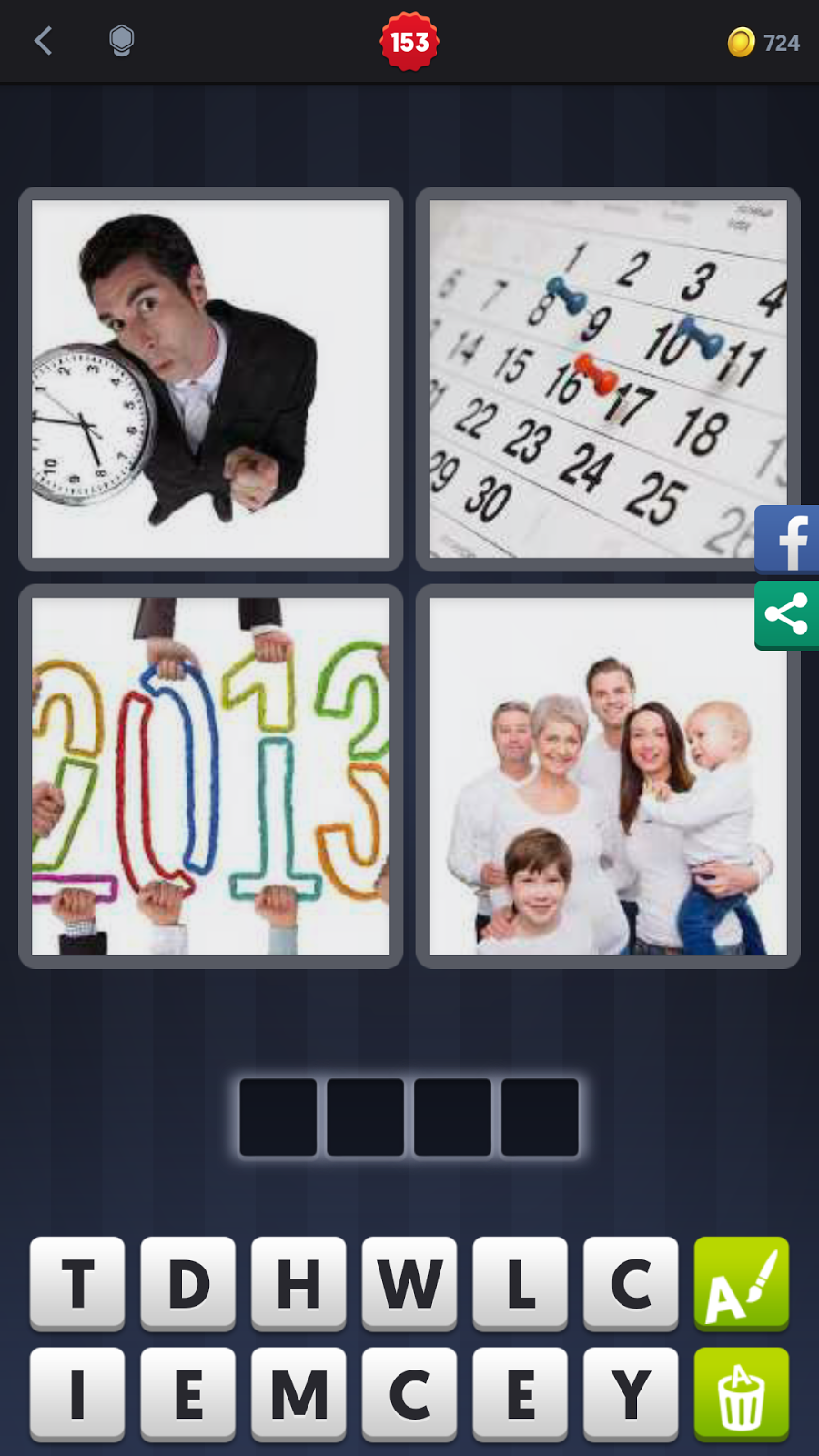 4 pics 1 word answers solutions level 153 time level 153 time answer time keyword 4 letter word aljukfo Images