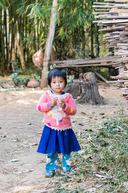 Village de Tharkhaung - Lac Sankar - Birmanie Myanmar