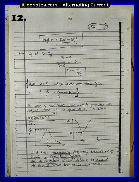 alternating current notes2