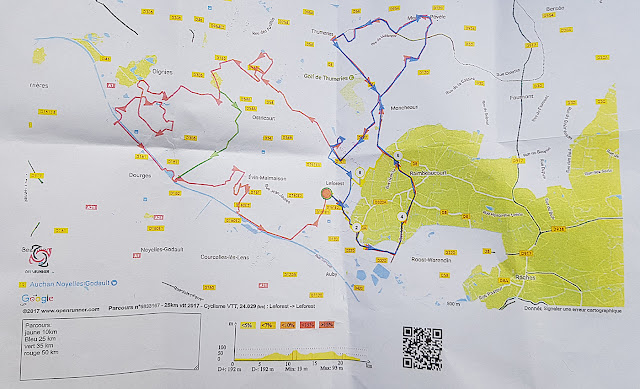 Rando VTT La Leforestoise parcours