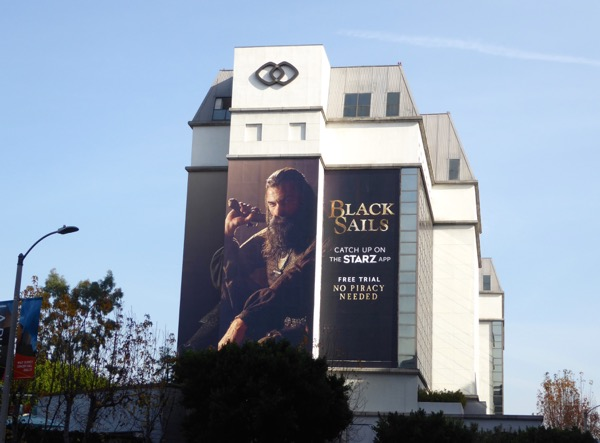 Black Sails season 4 teaser billboard