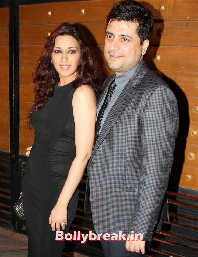 Sonali Bendre and Goldie Behl, Filmfare Awards 2014 Red carpet Images
