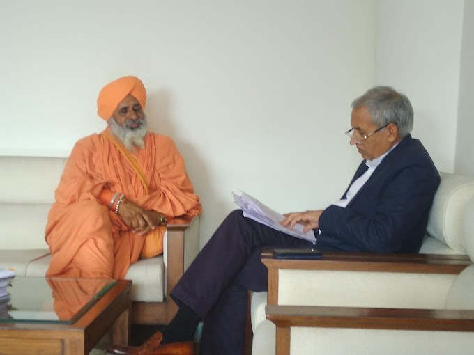 Sant Seechewal told the pain of the people of Punjab to Health Secretary Satish Chandra