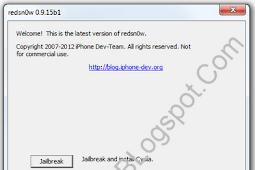 Cara Tethered JB iOS 6.1 Di iPhone, iPad, iPod Touch