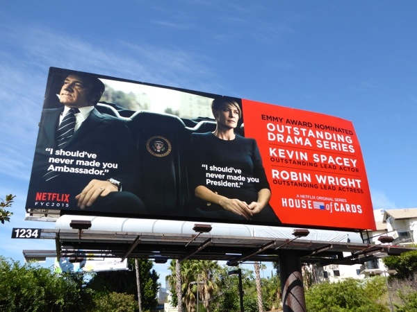 House of Cards 2015 Emmy Outstanding Drama billboard
