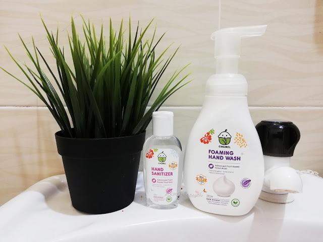 Foaming Hand Wash Dan Hand Sanitizer Dari Chomel Baby Pembersih Semulajadi Terbaik Untuk Bayi