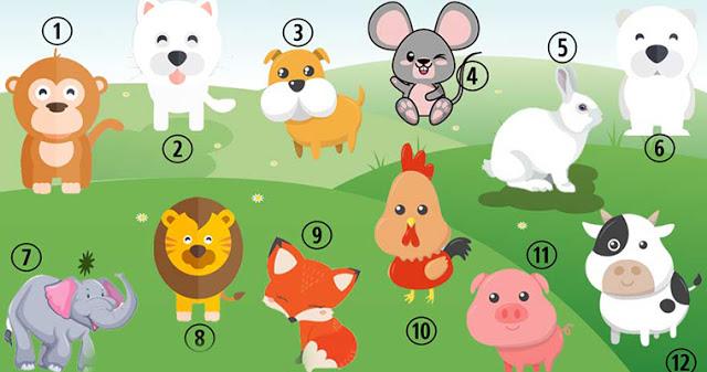 Узнайте, каким другие видят вас, выбрав любимое животное!