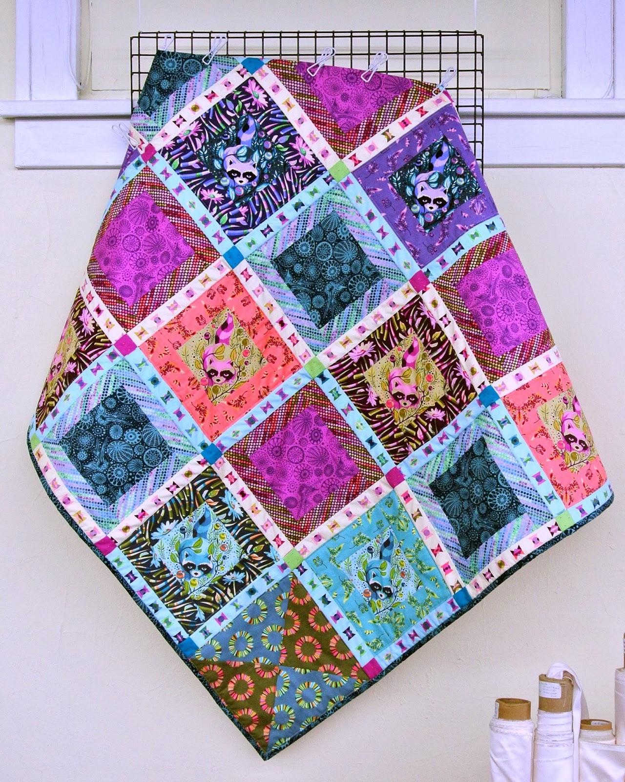 Treadle Yard Goods Tula Pink Quilt