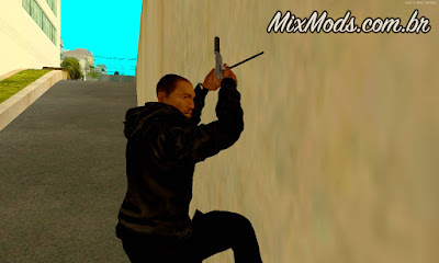 Grappling Hook gancho do Just Case para GTA SA andar paredes
