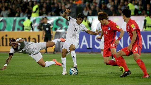 Korea Selatan vs Iran