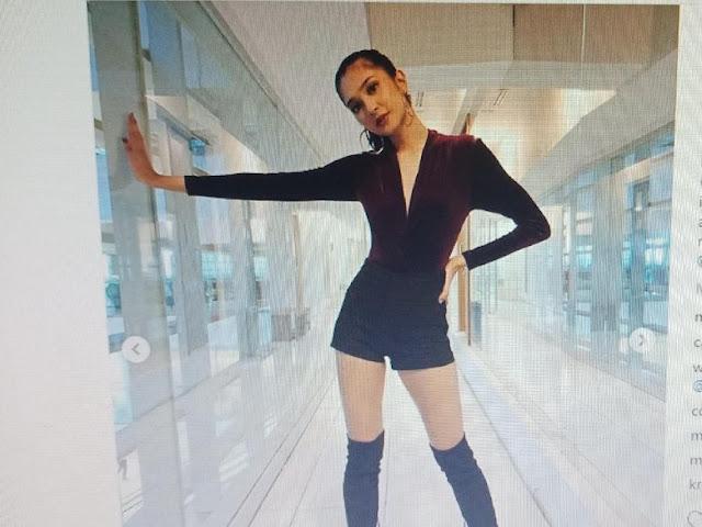 Pakai Baju Model Ini, Mikha Tambayong Dipuji Mirip Lisa 'BLACKPINK'