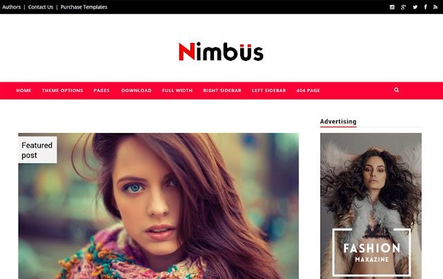 Nimbus-Responsive-Blogger-Template