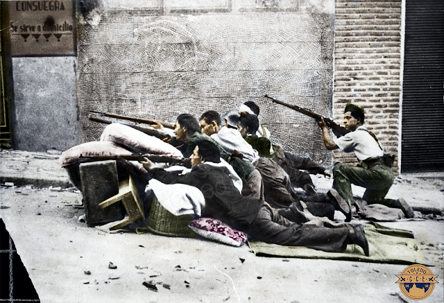 toledo guerra civil color