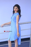 Telugu Actress Mounika UHD Stills in Blue Short Dress at Tik Tak Telugu Movie Audio Launch .COM 0092.JPG