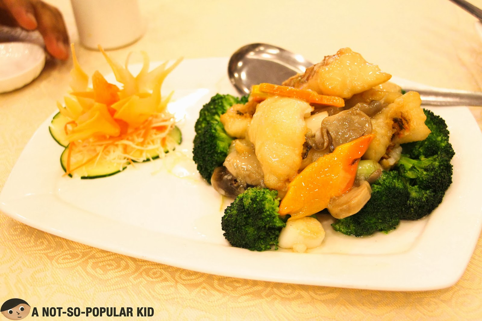 Sauteed Fish Fillet with Vegetables of Golden Fortune