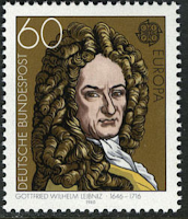 Gottfried Wilhelm Leibniz, German mathematician and philosopher 1980
