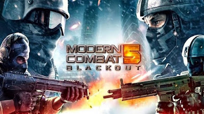 Modern Combat 5 Blackout Mod APK & DATA Free Download
