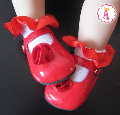 Лаковые туфельки для куклы Scarlette Paradise Galleries