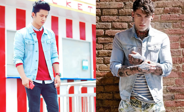 Jaqueta Jeans Masculina como usar (2)