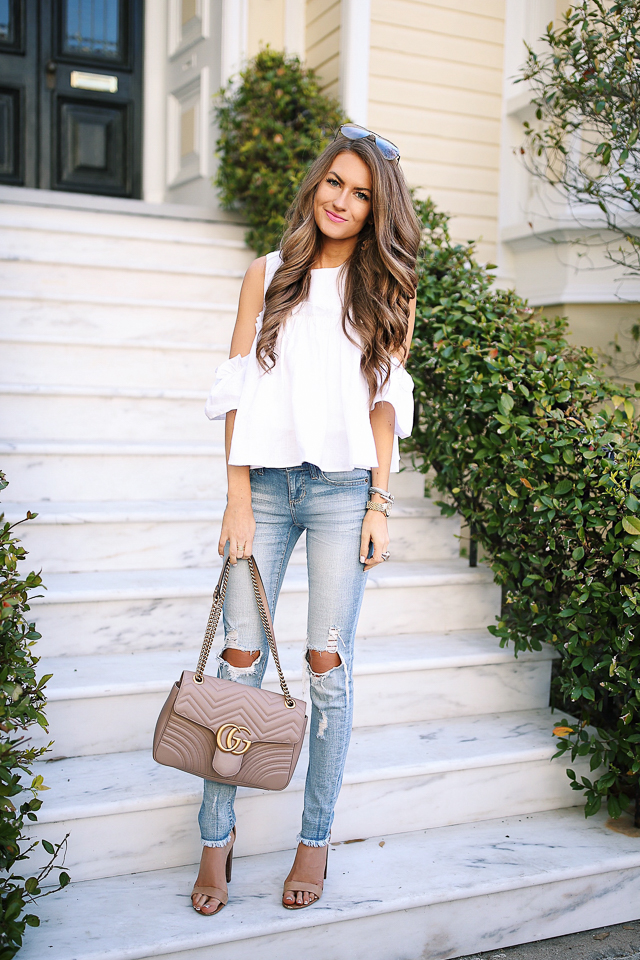 top spring outfits on blogger websites