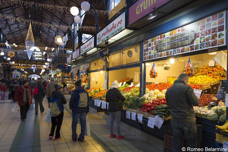Great Market Hall What to Do in Budapest in One Day