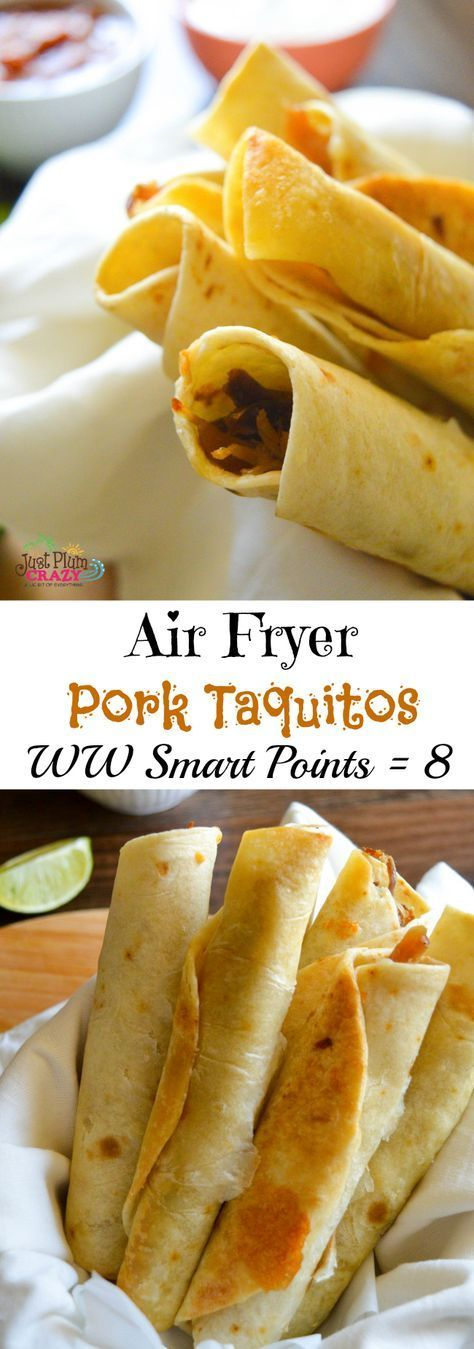 AIR FRYER WEIGHT WATCHERS PORK TAQUITOS RECIPE