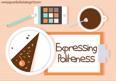 Materi dan Soal Bahasa Inggris Expressing Politeness Kelas  Materi dan Soal Bahasa Inggris Expressing Politeness Kelas 7 SMP