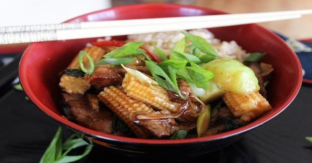 Stea And Bok Choy Stir Fry Recipe